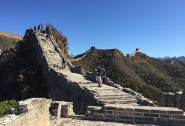 St Luke's Plymouth Great Wall of China Trek