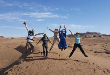Willen Hospice Sahara Trek and community project