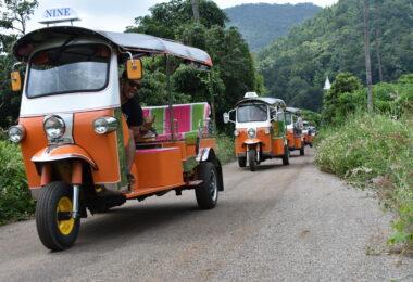 Thailand Tuk Tuk Adventure