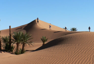 East Cheshire Hospice Trek Sahara
