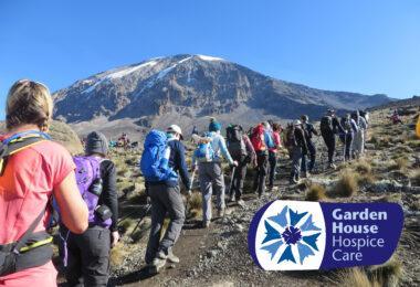 Trek Kilimanjaro: Garden House Hospice Care