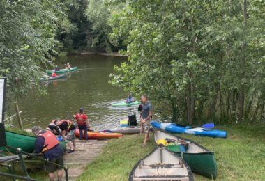 River Wye Canoe Weekend