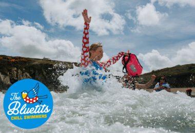 Bluetits Pembrokeshire Swimming Weekend